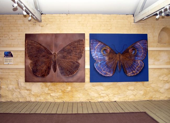 4. Diptych I and II each 160x190cm