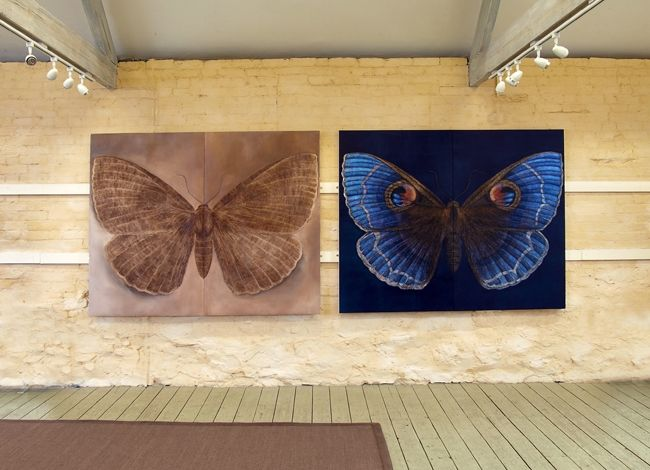 6. Diptych III and IV each 160x190cm