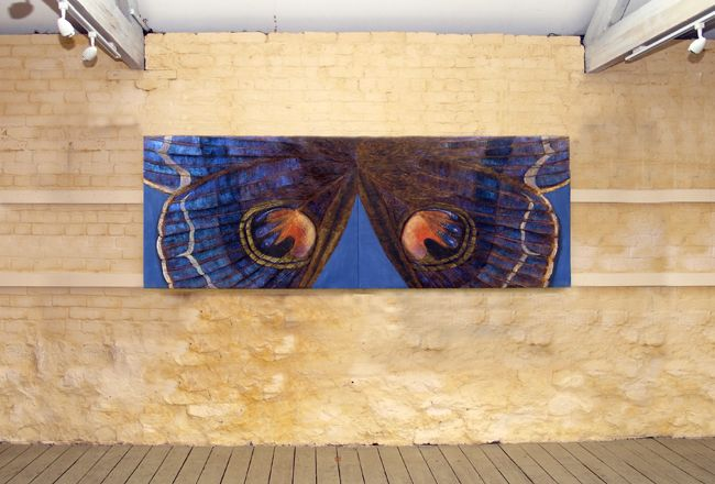 7. Diptych VI each panel 91x122cm