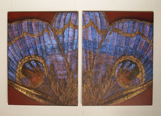 8. Diptych VII each panel 122x91cm